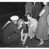 Auto accident -- Melrose and St. Andrews Place, 1951