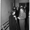Confessed forger -- Lincoln Heights Jail, 1951