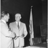 New Santa Monica Mayor, 1951