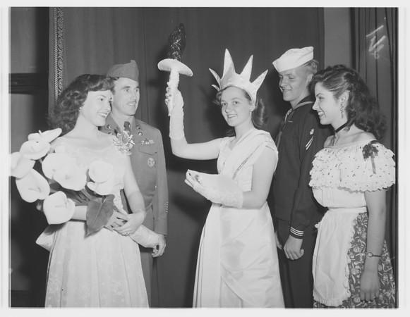 Pan-American Day dinner, 1951