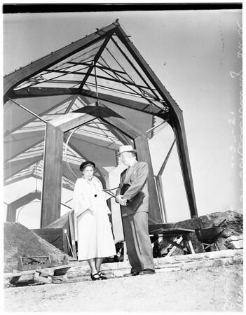 Wayfarer's Chapel, 1951