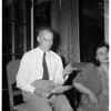 Father of Prince Aly Kahn's latest girl friend, 1951