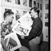 Hamilton High photo salon, 1951
