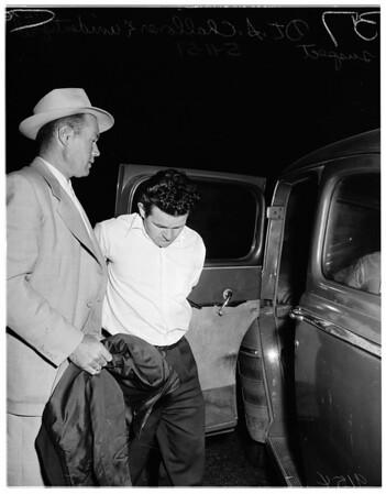 Holdup and shooting (9th and San Julian), 1951