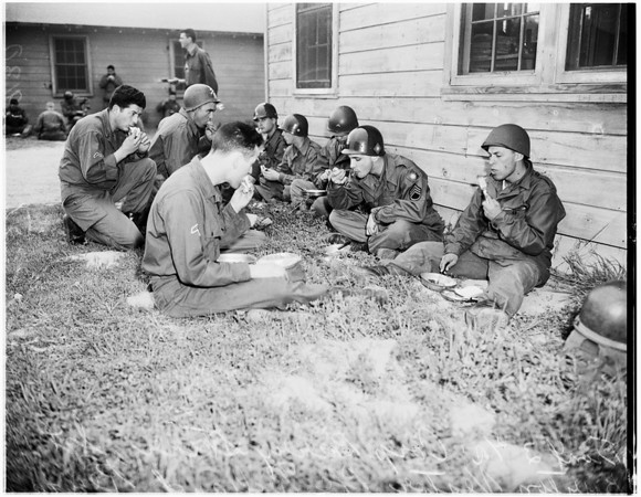 Camp Cook 40th division (National Guard), 1951