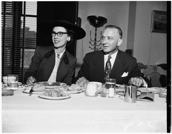 Red Cross luncheon, 1951