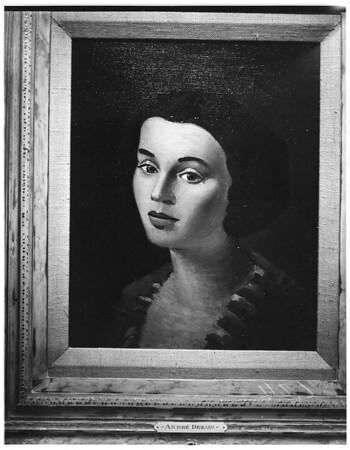 Art -- paintings, 1951