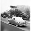 New signs  -- Arroyo Seco Parkway, 1951