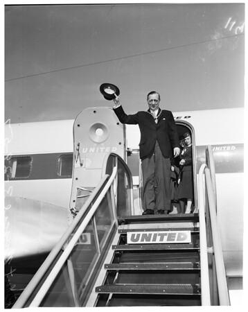 Dublin Lord Mayor arrival, 1957