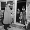 Roy Campanellas at home, 1958