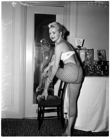 Bra and Corset show at Biltmore [Hotel], 1958