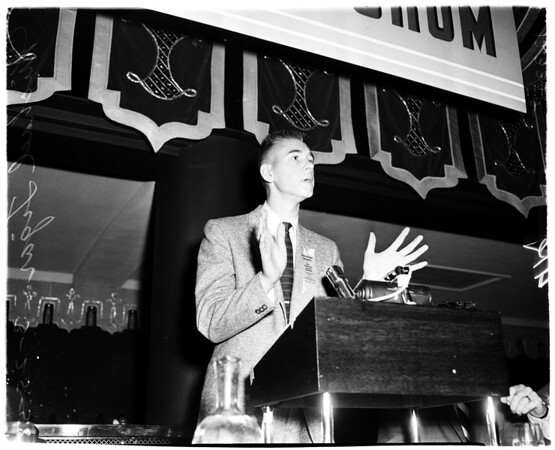 Youth Forum, 1958