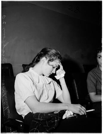 Sentenced (murder attempt suspect), 1958