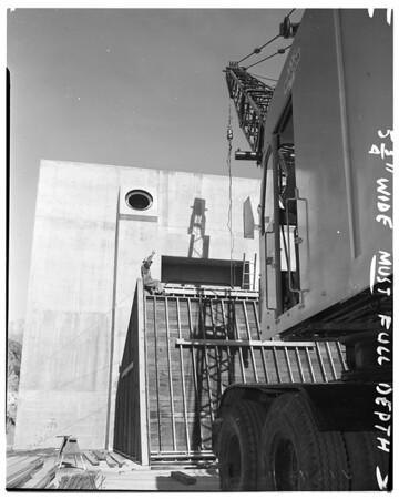San Antonio Dam, 1957