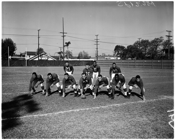 Football - Pro Bowl - Eastern squad, 1958