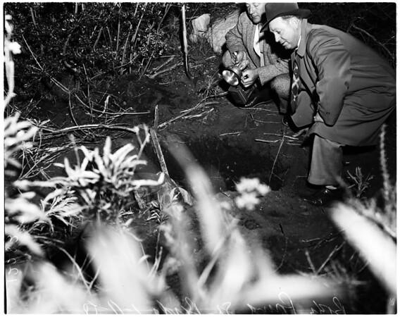 Body found in San Bernardino (unidentified), 1958
