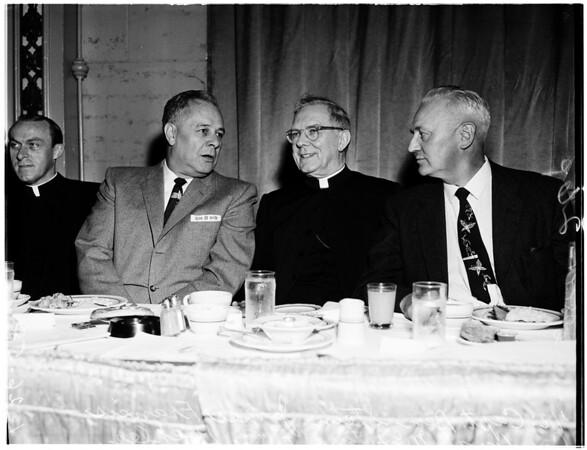 Holy Name Society, 1958