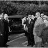 Mayor Frank Shaw funeral, 1958