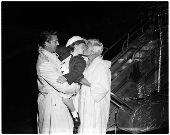 Jayne and Mickey, 1958