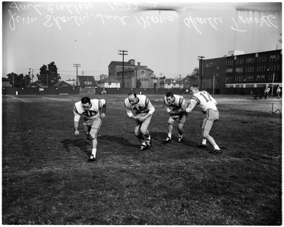 Football - University of Oregon, 1957