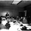 University of California Los Angeles regents meeting, 1958