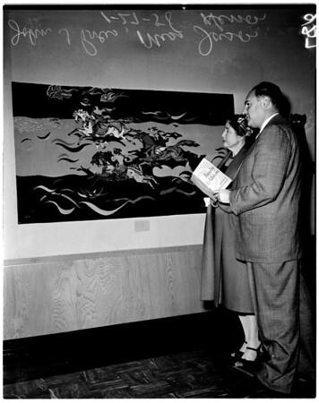 County Art Institute faculty exhibit, 1958