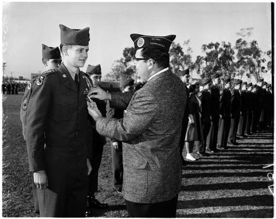 Fairfax High School ROTC, 1958