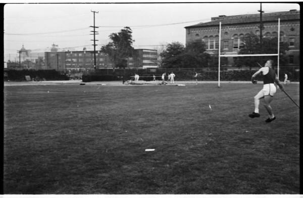 Track -- javelin, 1957