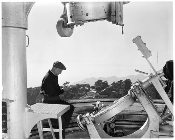 Mount Wilson Observatory fiftieth anniversary, 1957