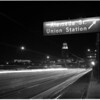 Negatives of City Hall from Union Station, 1961