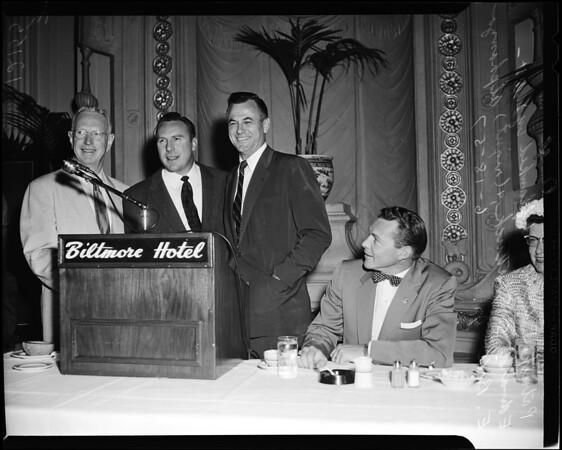 Republican Workers' breakfast, 1957