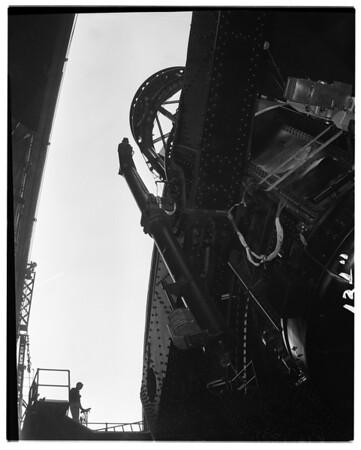 Mount Wilson Observatory fiftieth anniversary, 1957
