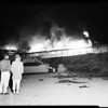 Hollywood Riviera Fire, 1958.
