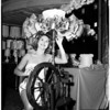 Bra show and lamp show combined, 1958