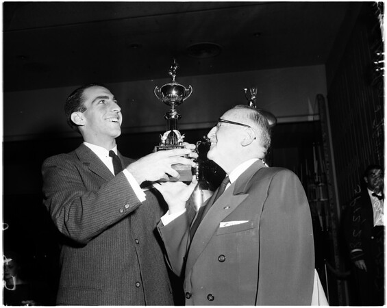 Most valuable player -- UCLA, 1957