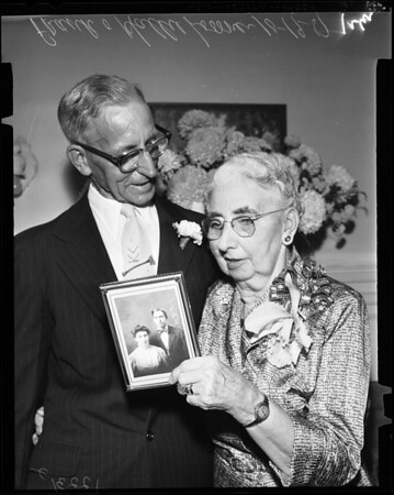 50th Wedding Anniversary, 1957