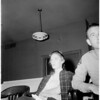Sandra Ericson trial (charged with attempted murder of two Malibu officers), 1958