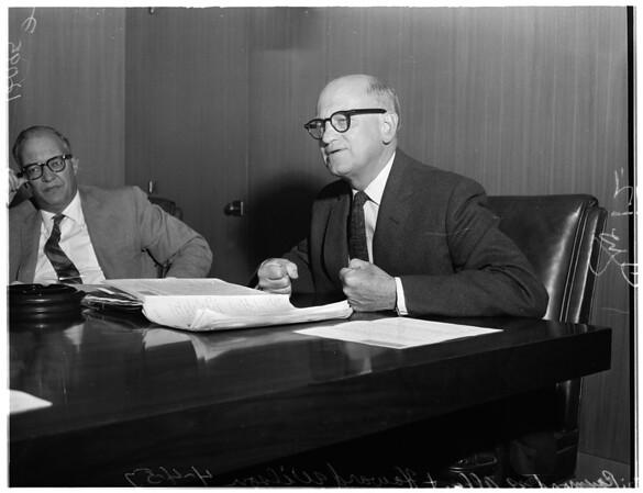 New University of California, Los Angeles Dean, 1957