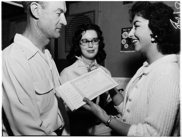Junior achievement, 1958