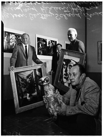 Faculty exhibit at County Art Institute, 1958