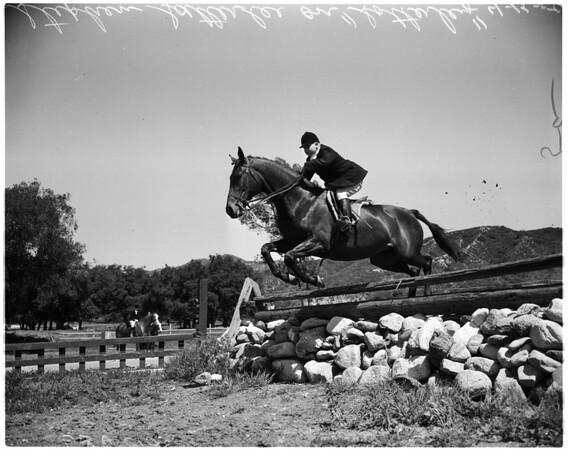 Flintridge Riding Club, 1958