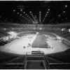 Sports Arena (interior views ready for Democratic Convention), 1960