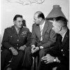 Italian General arrival, 1958