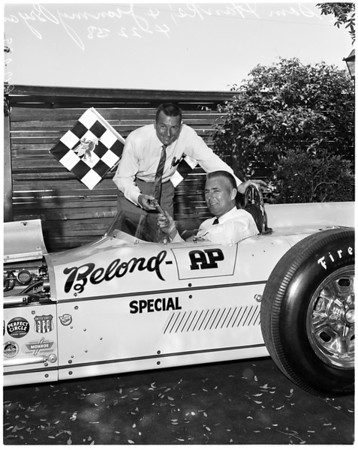 Autos -- race -- Indianapolis, 1958