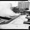 Fire at Eng-Skell Company at 814 West 8th place, 1957
