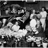 Flower mart (Las Floristas Headdress Ball), 1958