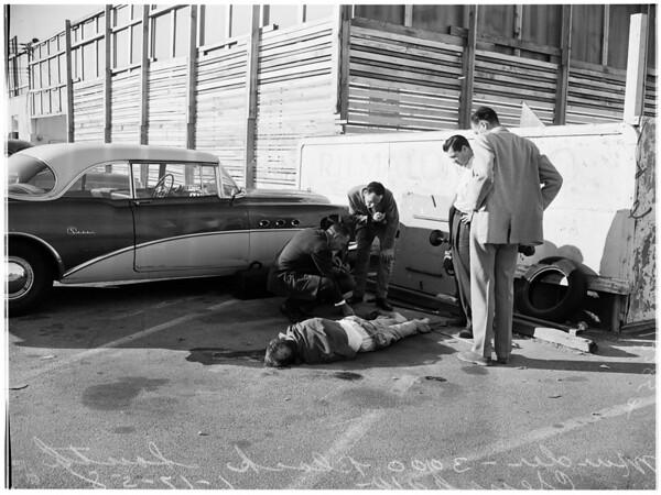 Murder -- 300 Block South Crenshaw, 1958