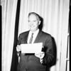 Breakfast club principal speaker, 1957