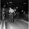 Bowling -- Examiner tournament, 1958