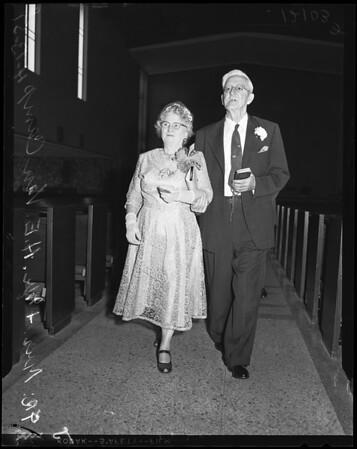Van Camp Golden Wedding, 1957